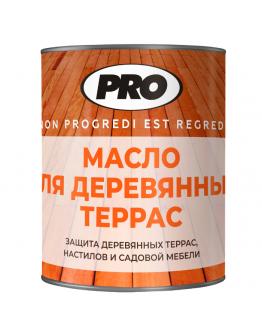 Масло для деревянных террас PRO Colore 0.9 л , Бесцветное