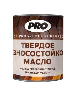 Масло твёрдое с воском для пола PRO Colore 0.9л , Прозрачный