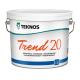 Краска воднодисперсионная Teknos Trend 20 PM1 0,9л