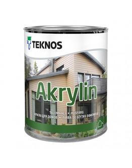 Краска для дерева TEKNOS Акрилин PM1 0,9л