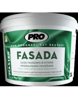 Краска для минеральных фасадов Fasada 1л , RAL-9003