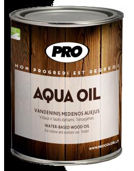 Масло для мебели из дерева Aqua Oil  0,9 л , Прозрачный