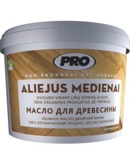 Льняное масло для дерева Aliejus Medenai  0,9 л.