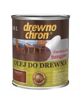 Масло для дерева Drewnochron PPG 0,75л Белый